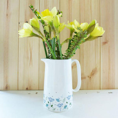 Blue parsley custard jug (CMT 52)
