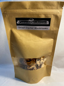 Dried oyster mushrooms 25g