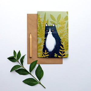 Mog greetings card