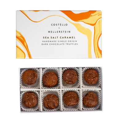 Sea salt camel truffles (Costello)