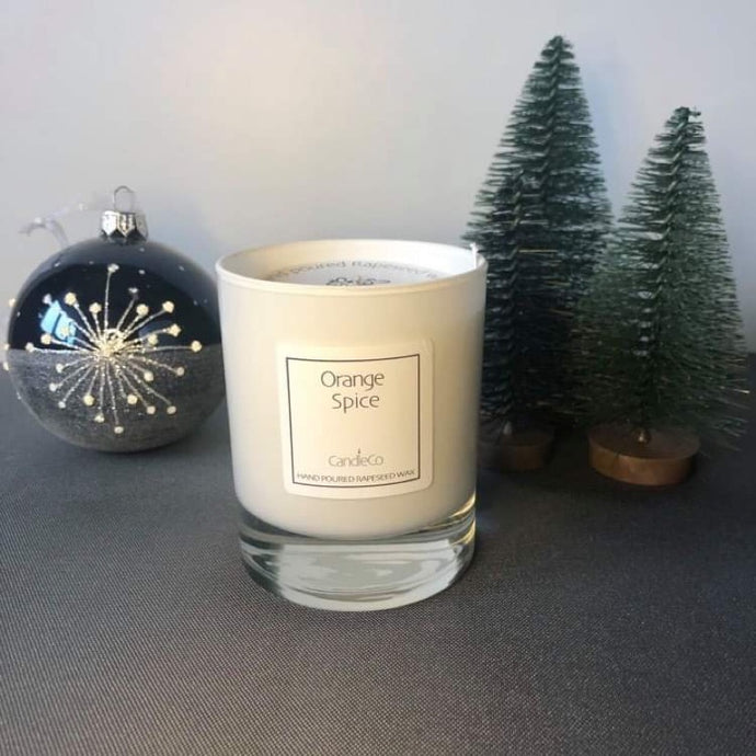 CandleCo - Orange spice scented candle
