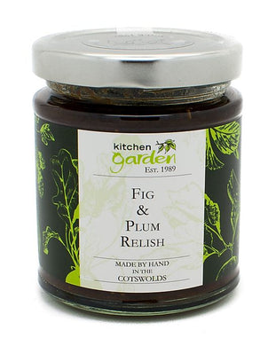 Fig and plum relish
