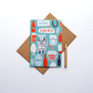 Cheers! Greetings card (STECO)