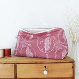 Load image into Gallery viewer, Mid pouch Mulberry pomegranate