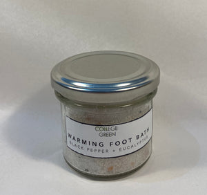 Warming foot bath  100g