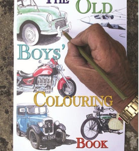The old boy's colouring book
