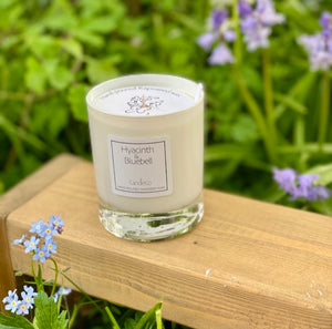 Hyacinth and bluebell scented candle (CandleCo)