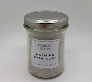 Warming bath soak 180g (College green)