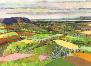 "Alison Vickery  ""Coaley Peak View"""