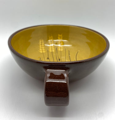 Wheat bowl with handle (SVC)
