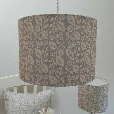 Light/lamp shade LUCY. BLUE