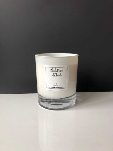 CandleCo - Black plum and rhubarb scented candle