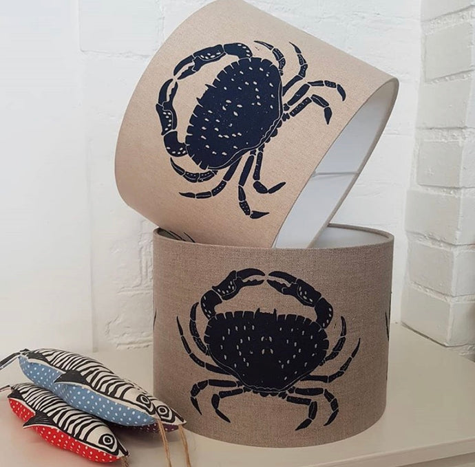 Crab light/lamp shade (BLUE)