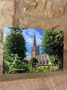 Church greetings card (cot cards)