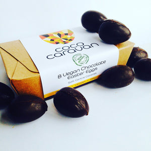Coco caravan vegan Easter eggs
