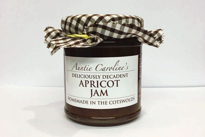 Apricot jam with brandy and spices (Auntie Caroline's)