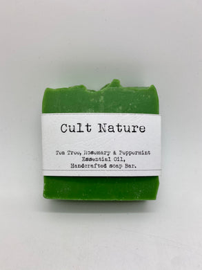 Tea tree, rosemary and peppermint essential oil soap (Cult)
