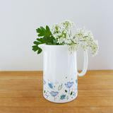 Blue parsley milk jug (CMT 132)