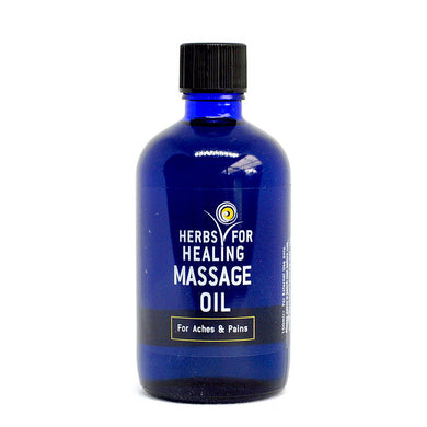 Massage oil for aches and pains 100ml (Herbs)