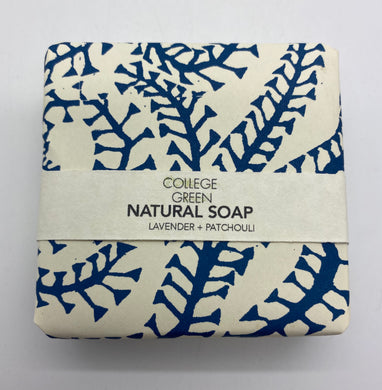 Lavender and Patchouli soap (College green)
