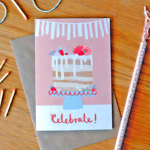 Celebrate greetings card (STECO)