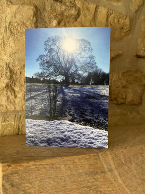 Miserden greetings card (cots cards)