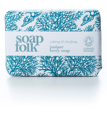 Soap Folk - Organic juniper berry soap