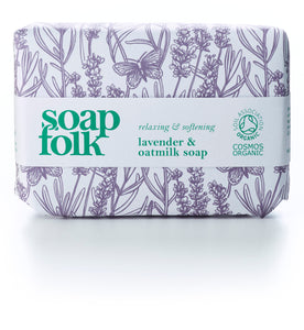 Soap Folk Organic - Lavender and Oatmilk Soap