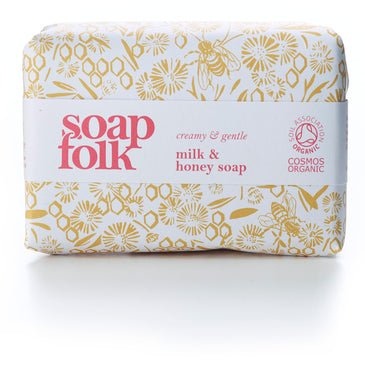 Soap Folk - Organic milk and honey soap