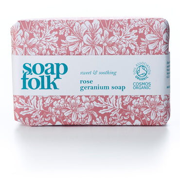 Soap Folk - Organic rose geranium soap