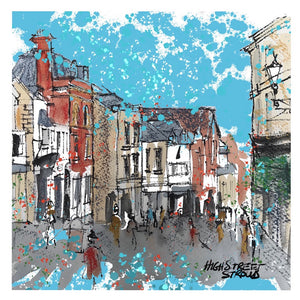 "Patsy Gamble "" Stroud high street"""