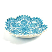 Load image into Gallery viewer, Tara Davidson - Fine antique lace bowl