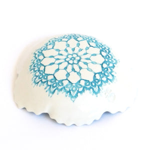 Tara Davidson - Fine antique lace bowl