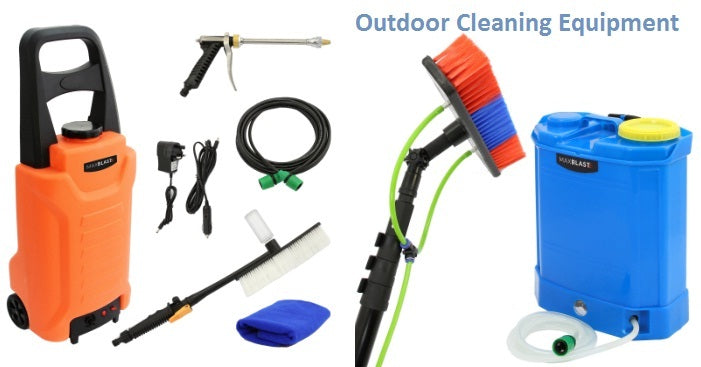Shop Outdoor Cleaning Equipment Online in UK With Techni-Pros
