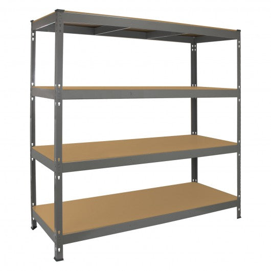 monster-racking-q-rax-heavy-duty-storage-shelving-160cm-w-60cm-d-grey Techni-Pros - techni-pros
