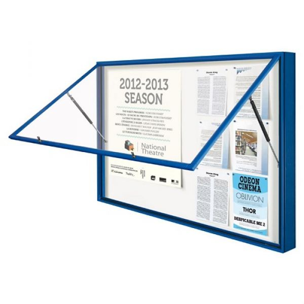 Outdoor 1000 Series Poster Case - 8x A4 Techni-Pros - techni-pros