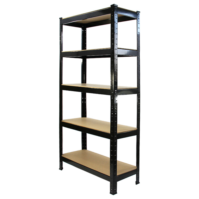 monster-racking-t-rax-heavy-duty-shelving-units-black-75cm-w-30cm-d Techni-Pros - techni-pros