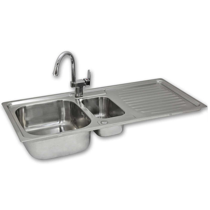 premium-stainless-steel-kitchen-sink-confetti-tap Techni-Pros - techni-pros