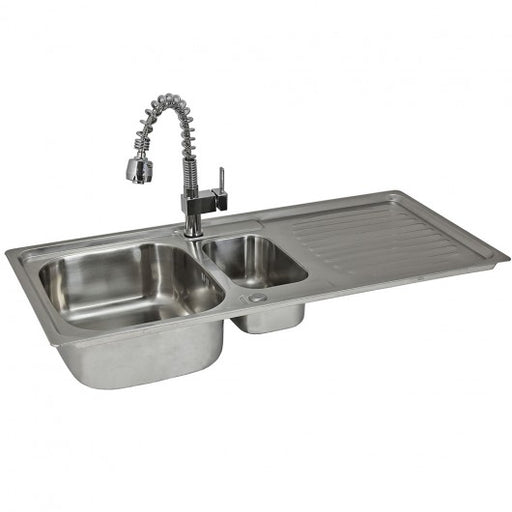 premium-stainless-steel-kitchen-sink-padstow-tap Techni-Pros - techni-pros
