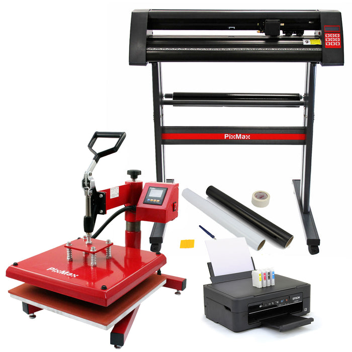 pixmax-38cm-swing-heat-press-vinyl-cutter-printer-weeding-pack Techni-Pros - techni-pros