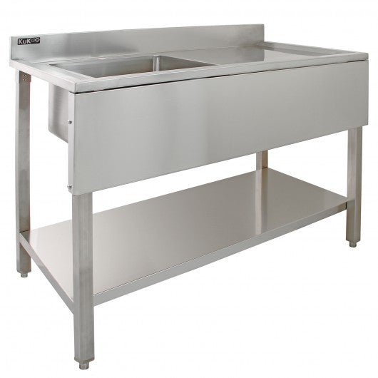 kukoo-commercial-stainless-steel-sink-right-hand-drainer Techni-Pros - techni-pros
