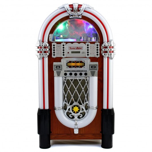 Retro Style Illuminated Jukebox Sound System - techni-pros