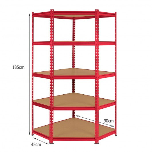 Z-Rax 90cm Racking Bundle: Corner Shelving and 2 Garage Racking Bays - techni-pros