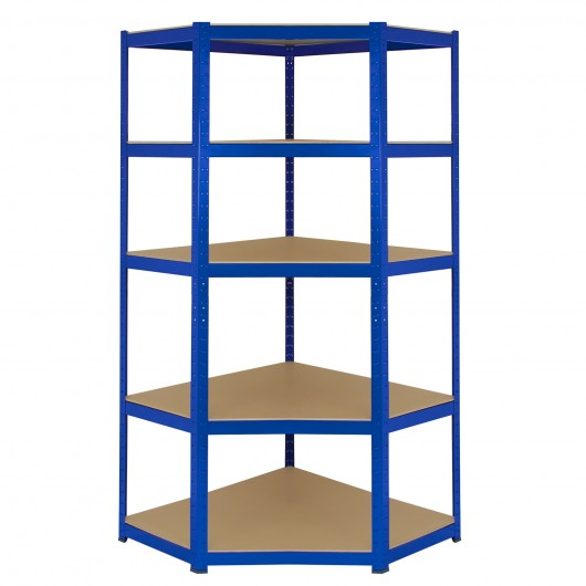 monster-racking-t-rax-corner-shelving-unit-2-x-90cm-garage-storage-bays-blue Techni-Pros - techni-pros