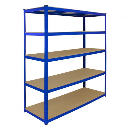 monster-racking-t-rax-extra-wide-storage-shelves-blue-160cm-w-60cm-d Techni-Pros - techni-pros