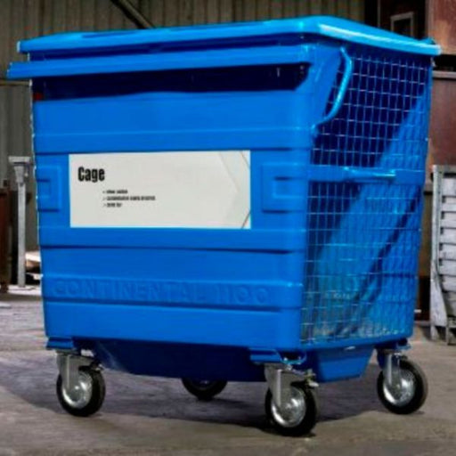 Taylor Continental Wheeled Cage Bin - 1100 Litre Capacity Techni Pros