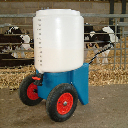 110 Litre Mobile Milk Trolley Techni-Pros - techni-pros