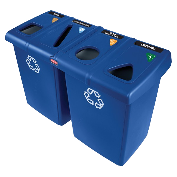 Four Stream Glutton Recycling Station - 348 Litre Techni-Pros - techni-pros