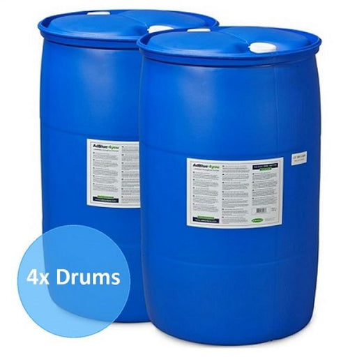 4x 200 Litre Drums of AdBlue Solution Techni-Pros - techni-pros