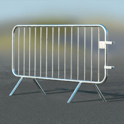 ECOBAR Galvanised Steel Crowd Safety Barrier - Pack of 25 Techni-Pros - techni-pros